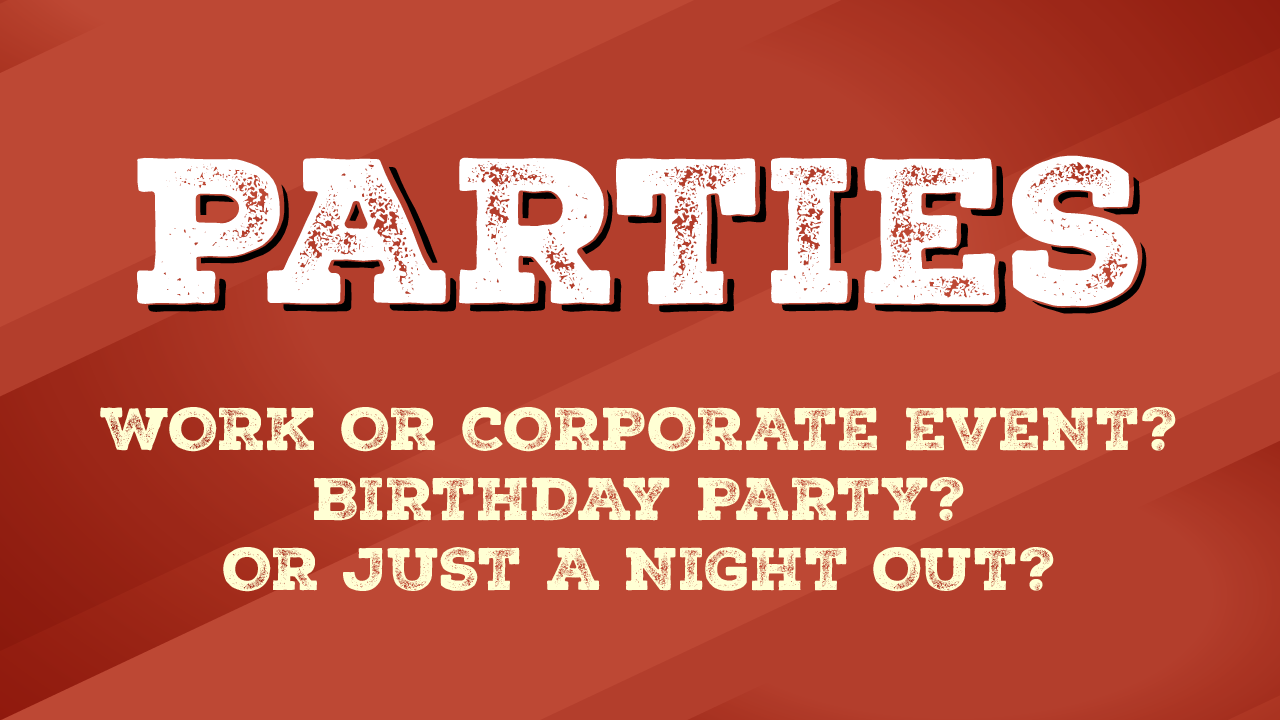 Header image for Party Time article.