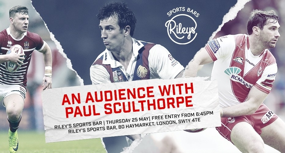 Header image for Super League Thursday with Paul Sculthorpe MBE article.